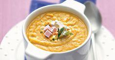 Aprenda a preparar a receita de Creme de abóbora com queijo cottage