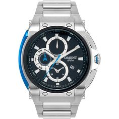 f34d4e023ac Relógio Masculino Orient Analógico Prata MBSSC086 P1SX nas Lojas  Americanas.com