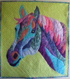Horse quilt                                                                                                                                                      More