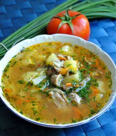 Суп харчо из курицы