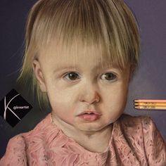 """Darcy"" pastel 50 x 40 cm."