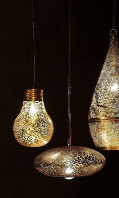 Zenza copper lamp - Plümo Ltd