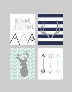 New Baby Boy Room Nursery Themes Antlers Ideas