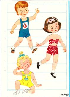 lege børn *** Paper dolls for Pinterest friends, 1500 free paper dolls at Arielle Gabriel's International Paper Doll Society, writer The Goddess of Mercy & The Dept of Miracles, publisher QuanYin5