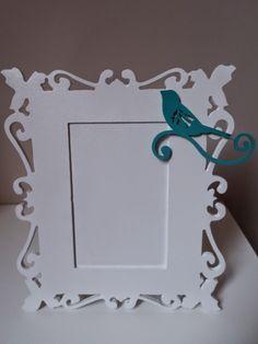 Artesanatos Juliana: Porta Retrato Provençal Pássaros Quem quiser adquirir é só acessar minha loja virtual: www.elo7.com.br/artesanatosjuliana