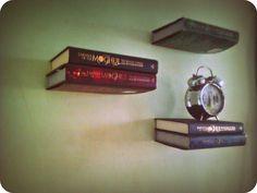 Hanging book shelf #decoration #furniture #storage #organization
