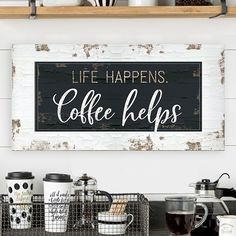 Are you looking for an inspiration to design your very own home coffee station? Take a look at this collection of over 45 design ideas and styling tips on how to create the most spectacular coffee station at home.