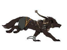 Comissão - BlueWolfCheetah: Thanious Run Cycle por DarkmaneTheWerewolf