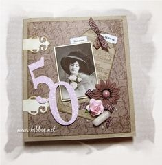 Bibbi's: Bok-kort til en 50 åring
