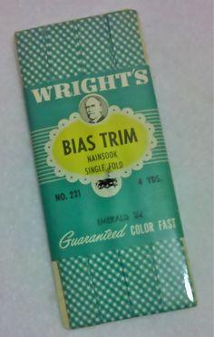 Vintage Bias Tape