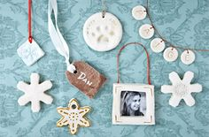 Salt Dough Ornaments - One for Terra's first Christmas!