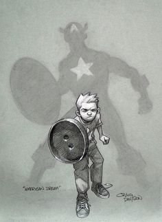 Captain America - American Dream by Craig Davison *