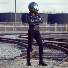 HAVE A NICE DAY -UNCENSORED-: Photo Cafe Racer Girl, Good Day, Leather Pants, Motorcycle, Nice, People, Fashion, Buen Dia, Leather Jogger Pants