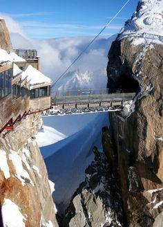Aiguill e du midi, Chamonix, France