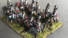 AB 15/18mm Figures. Bavarian Napoleonic army. Mini Paintings, Places To Visit, Abs, Miniatures, Crunches, Abdominal Muscles, Killer Abs, Six Pack Abs, Minis
