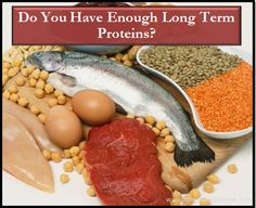 Making sure you have a variety of long term proteins stored is important for survival situations to help the body rebuild and heal itself from extra stress.