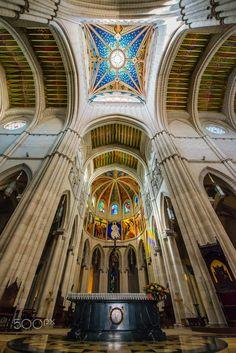 Almudena Cathedral by Ammar Shaban