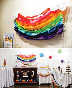 Candyland Inspired Rainbow Birthday Brunch! // Hostess with the ...