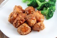 Low Carb Chicken Teriyaki Meatballs (Gluten Free and Dairy Free)