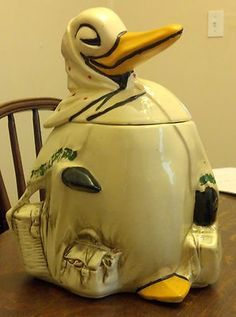 McCoy Traveling Duck Mother Goose Cookie Jar