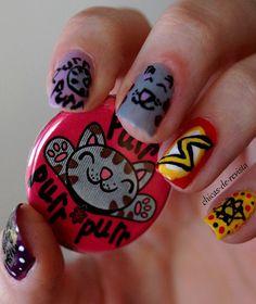The Big Bang Theory nail art