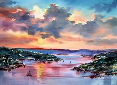 Janet Campbell is an amazing watercolor artist!