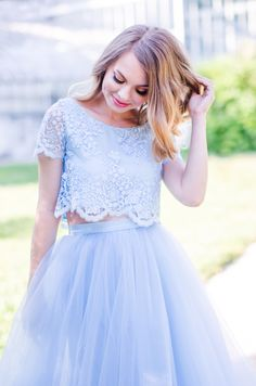 Making my dreams come true - Pink Wish Blue Tulle Skirt, My Dream Came True, Princess Wedding Dresses, 15 Dresses, Lace, Skirts, Pink, Collection, Tops