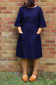 Marilla Walker: Bennett dress bonus sleeve pattern!