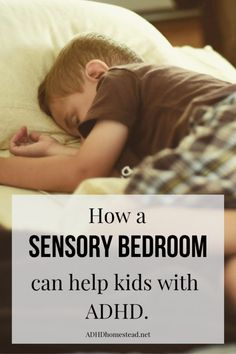 Use a sensory bedroom to give children with ADHD a personal oasis. Use a sensory bedroom to give children with ADHD a personal oasis. Adhd Odd, Adhd And Autism, Autism Sensory, Sensory Activities, Sensory Play, Sensory Tubs, Sensory Boxes, Motor Activities, Adhd Help