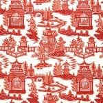 What's Hot | NANJING by Schumacher – Ultimate Blue-n-White Chinoiserie print! | FABRIC STUDIO