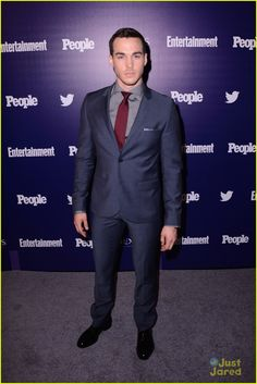 Chris Wood at the Entertainment Weekly and People's 2015 Upfronts