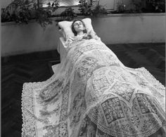 Netherlands 1944, beautiful dead woman laid out before her funeral