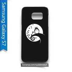 Cute Totoro Black Samsung Galaxy S7 Case Cover