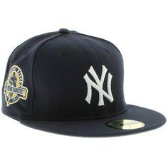New York Yankees Mariano Rivera 59fifty - Navy   White 3bce0b62c4983