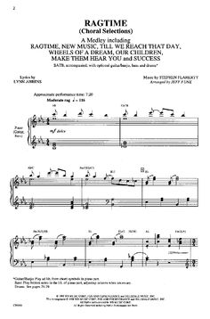 Wheels of a Dream from Ragtime - find it in the medley.  Double click the music then press play next to SATB to hear and practice your part.