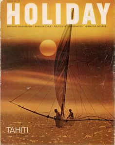 HOLIDAY Magazine Cover From 1967