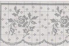 Kira scheme crochet: Four beautiful romantic borders Filet Crochet Charts, Crochet Borders, Crochet Motif, Crochet Patterns, Crochet Edgings, Quick Crochet, Love Crochet, Beautiful Crochet, Crochet Bedspread