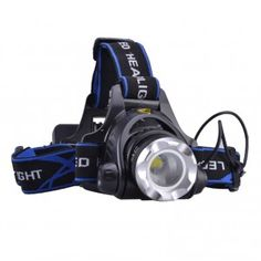 SingFire CREE XM-L T6 LED Rechargeable Headlamp Headlight 1000LM Zoomable + AC Charger