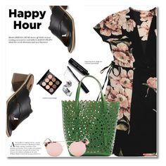 """Bottoms Up: Happy Hour"" by svijetlana ❤ liked on Polyvore featuring Bobbi Brown Cosmetics, Alaïa, MAC Cosmetics, happyhour and zaful"