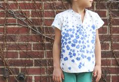 nani IRO peaceful cooing Ayashe top by Lindsay for #kidsclothesweek