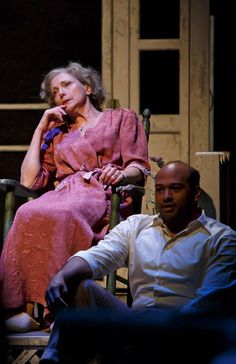 All it takes is one dark secret to shatter a family's American Dream. Here's your first look at Arthur Miller's gripping classic All My Sons on stage.