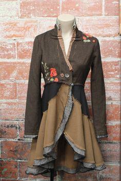 omdannet jakke -nederdel