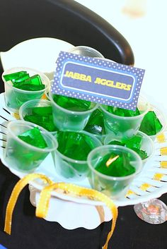 Star Wars Party - Jabba Jigglers, for our May the 4th be With You