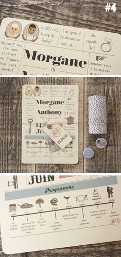 .super cute wedding invitation! I love the idea of a timeline/flowchart looking invite!