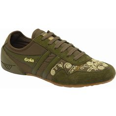 Gola Women's Gola Moth Sneaker (379540701) ($31) ❤ liked on Polyvore  featuring