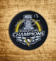 Get your very own autographed puck by Nick Bonino! Comes with a Certificate of Authenticity and holofoil.