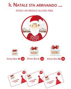 Scegli il Natale che fa per te! Tante idee regalo sul nostro sito! Regalati o regala un Natale Gluten Free! Pacco M,L,XL o Card 30,50,70 ... il Natale è Sglutinato! http://ow.ly/VpYto #xmas #xmasgift #xmasgifts #xmasgiftideas #xmasglutenfree #senzaglutine #natalesenzaglutine #celiachia #noglutine