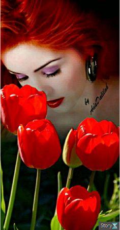 калейдоскоп Good Night Beautiful, Most Beautiful Black Women, Beautiful Red Hair, Beautiful Rose Flowers, Beautiful Gif, Beautiful Artwork, Iphone Wallpaper Video, Pop Art Wallpaper, Flower Girl Photos