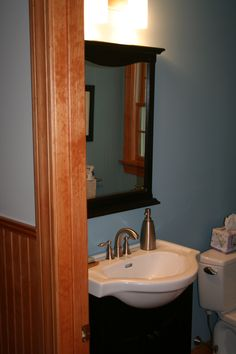 Custom Bathroom Vanities Ri white frameless vanity #rhodeislandbathroom #cypressdesignco
