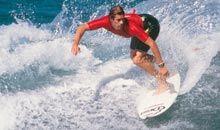 Deportes - Costa Adeje, Tenerife Sur. Surf, body board, coger la ola.